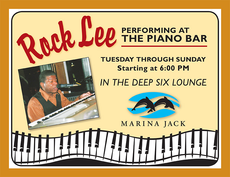 Rock Lee @ The Marina Jack Piano Bar