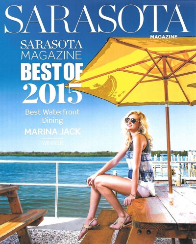 Best of Sarasota 2015 - Waterfront Dining